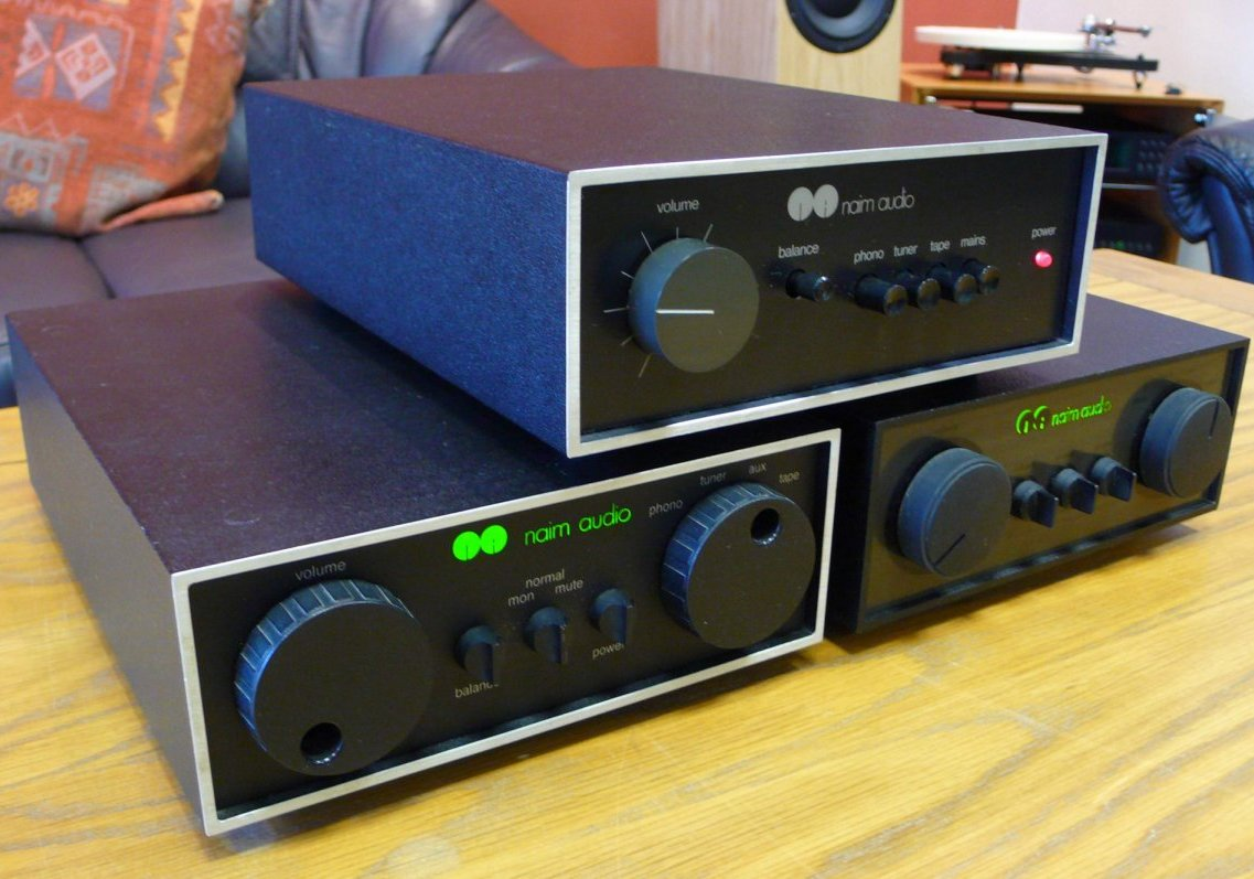 Naim Nait amplifier